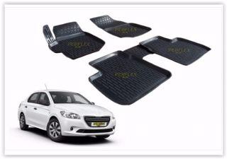 Paspas 3d X-mat Havuzlu Peugeot 301 12> Siyah resmi