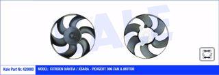 Fan Motoru + Pervane Cıtroen Xantıa-xsara Peugeot P306 220w-320mm resmi