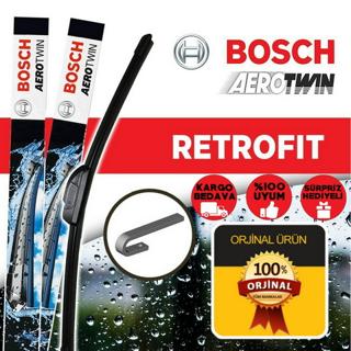 Peugeot 206 Silecek Takımı 2000-2014 Bosch Aerotwin Retrofit resmi