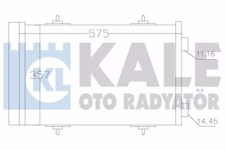Klima Kondenseri Peugeot P508-p508 Sw-cıtroen C5ııı-break Al-al resmi