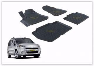 Paspas 3d X-mat Havuzlu Peugeot Partner Tepee 08> Siyah resmi