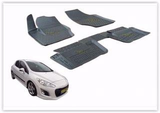 Paspas 3d X-mat Havuzlu Peugeot 308 08> Siyah resmi