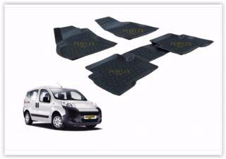Paspas 3d X-mat Havuzlu Peugeot Bıpper 07> Siyah resmi