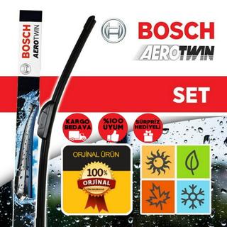 Peugeot 207 Silecek Takımı 2007-2012 Bosch Aerotwin Set A977s resmi