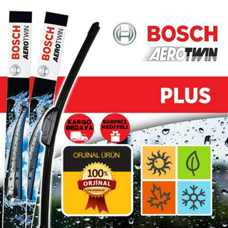 Peugeot 2008 Silecek Seti 2013-2017 Bosch Aerotwin Plus resmi