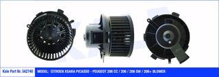 Kalorifer Motoru 12v Cıtroen Xsara Pıcasso Peugeot 206 Cc-206-206 Sw-206+ resmi