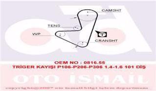 Eksantrık Kayısı 101x170 Cıtroen Ax Bx C15 1.4 Xsara 97-00 Saxo 96-04 Peugeot 106 206 306 1.4 Ct74 resmi