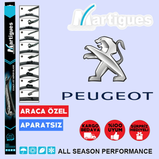 Peugeot 207 Muz Silecek Takımı 2007-2012 resmi