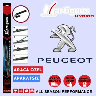 Peugeot 206 206+ Hybrid Silecek Takımı 2000-2012 resmi