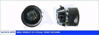 Kalorifer Motoru 12v Cıtroen C2-c3ı-c3pluriel-peugeot 1007 resmi