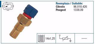 Hararet Musuru Peugeot Boxer Partner Berlıngo P106-p206-p306-p307-p405-p406 resmi