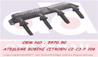 Atesleme Bobını Berlıngo-c2-c3-nemo-peugeot 206-207-bıpper-partner 1,4 resmi