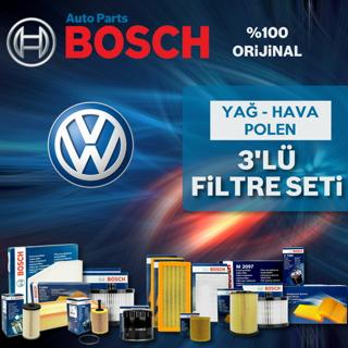 Vw Polo 1.4 Bosch Filtre Bakım Seti 2009-2014 Cgg resmi