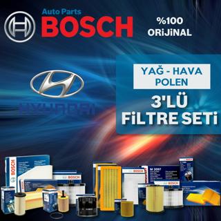 Hyundai Accent Blue 1.6 Crdı Bosch Filtre Bakım Seti 2011-2016 resmi