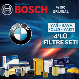 Bmw 3.20 D Bosch Filtre Bakım Seti e90 2006-2012 resmi