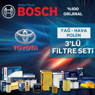 Toyota Avensis 1.6 Bosch Filtre Bakım Seti 2009-2016 resmi
