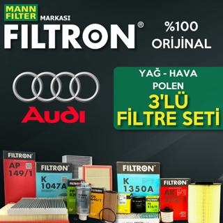 Audi A3 1.6 Filtron Filtre Bakım Seti 2004-2012 resmi