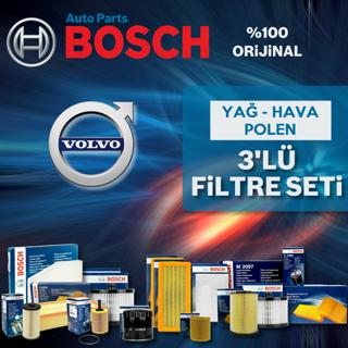 Volvo S40 1.6 Dizel Bosch Filtre Bakım Seti 2007-2012 resmi