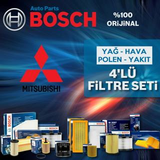 Mitsubishi Lancer 1.6 Bosch Filtre Bakım Seti 2004-2008 resmi