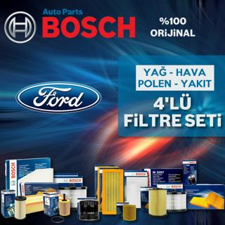 Ford Focus 1.6 Tdcı Bosch Filtre Bakım Seti 2007-2010 resmi