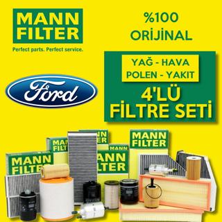Ford Focus 1.6 Tdcı Mann-filter Filtre Bakım Seti 2007-2010 resmi