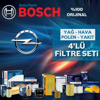 Opel Astra H 1.3 Cdtı Bosch Filtre Bakım Seti 2005-2013 resmi