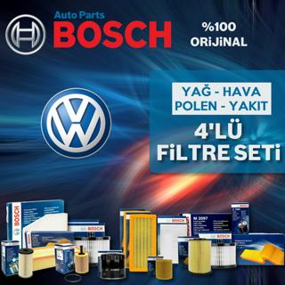 Vw Caddy 1.6 Tdı Bosch Filtre Bakım Seti 2010-2015 resmi