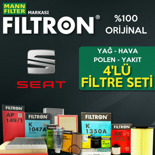 Seat Cordoba 1.4 Tdı Filtron Filtre Bakım Seti 2003-2009 resmi