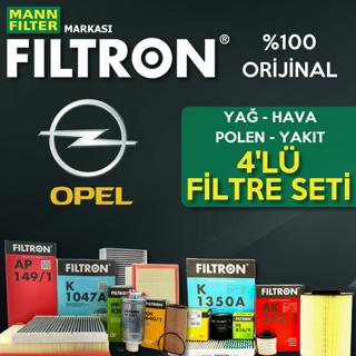 Opel Corsa D 1.3 Cdtı Filtron Filtre Bakım Seti 2011-2015 resmi