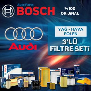 Audi A3 1.6 Tdı Bosch Filtre Bakım Seti 2009-2013 resmi