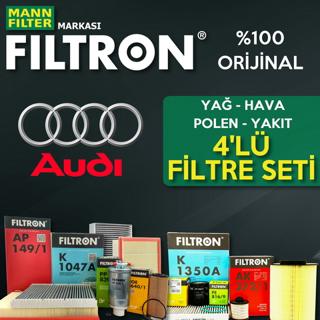 Audi A3 1.6 Tdı Filtron Filtre Bakım Seti 2009-2013 resmi