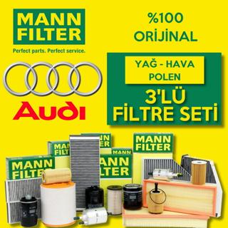 Audi A3 1.6 Tdı Mann-filter Filtre Bakım Seti 2009-2013 resmi