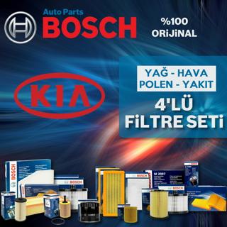 Kia Sorento 2.5 Crdı Bosch Filtre Bakım Seti 2003-2006 140hp resmi