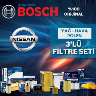 Nissan Micra 1.2 Bosch Filtre Bakım Seti k12 2003-2010 resmi