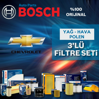 Chevrolet Cruze 1.6 Bosch Filtre Bakım Seti 2010-2013 resmi
