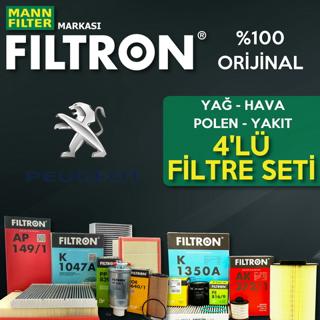 Peugeot 301 1.6 Hdi Filtron Filtre Bakım Seti 2013 - 2018  resmi