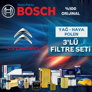 Citroen C-Elysee 1.6 Hdi Bosch Filtre Bakım Seti 2013 - 2018 resmi