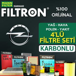 Opel Astra K 1.6 CDTi Filtron Filtre Bakım Seti 2015-2018 resmi