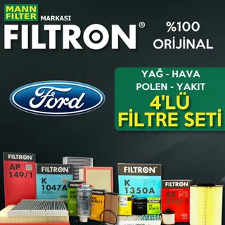 Ford Focus 1.6 Tdcı Filtron Filtre Bakım Seti 2007-2010 resmi