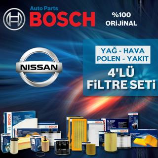 Nissan Qashqai 1.6 DCI Bosch Filtre Bakım Seti 2014-2017 resmi