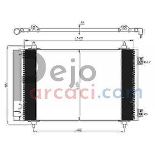 Citroen JUMPY Panelvan 2.0 HDi 125 2011-2019 Valeo Klima Radyatörü resmi